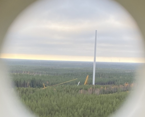 Hedet/Ribacken/Langmossa, onshore installation, Finland